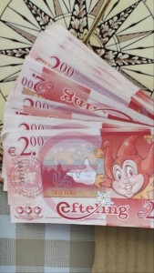 efteling geld